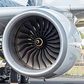 Rolls-Royce Trent XWB on Airbus A350-941 F-WWCF MSN002 ILA Berlin 2016 01 square-crop.jpg