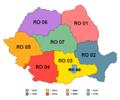 Romania EuroRegions.png