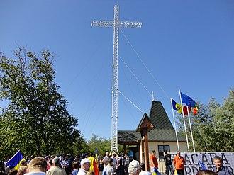 Nisporeni - Image: Romanian People's Salvation Cross