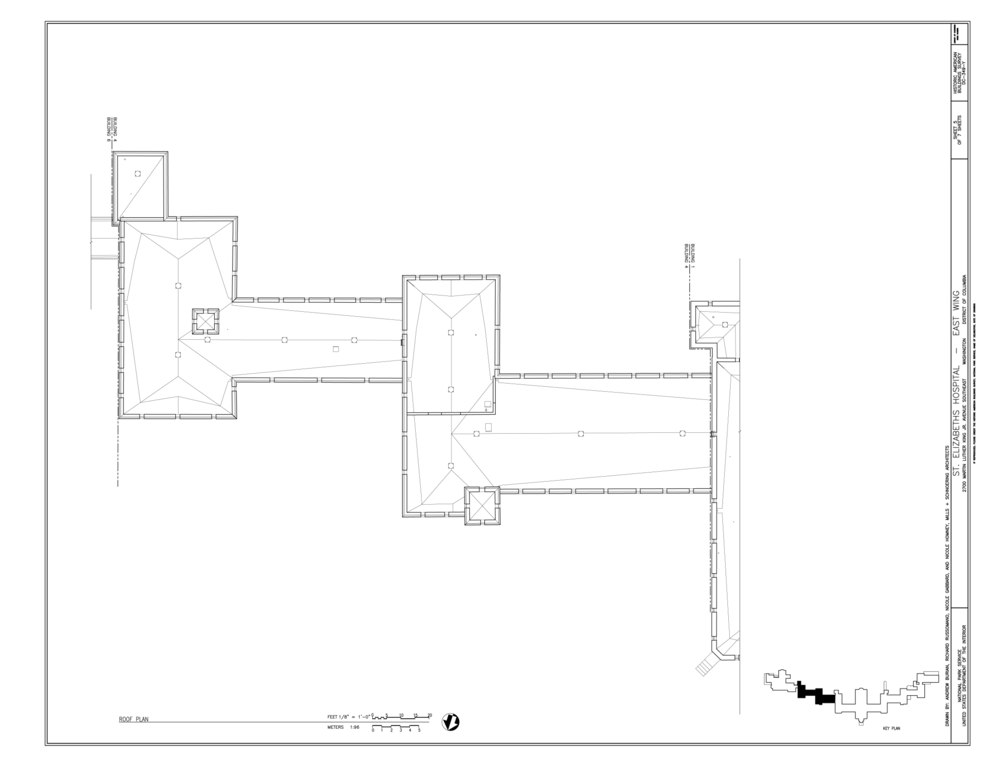 File roof plan st elizabeths hospital east wing 539 for 539 plan
