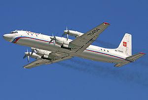 Ilyushin Il-18 - Operational Ilyushin Il-18 of Russia State Transport Company
