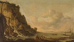 Simon de Vlieger: Rocky coast