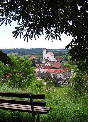Rottenegg, Geisenfeld - Image: Rottenegg(Geisenfeld ) Ortsansicht 2