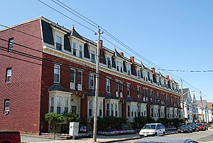 A. B. Chace Rowhouses - Image: Row Houses FR