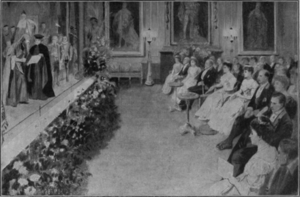 Royal Command Performance - Command Performance, 1905 at Windsor Castle: The Merchant of Venice by Arthur Bourchier's company