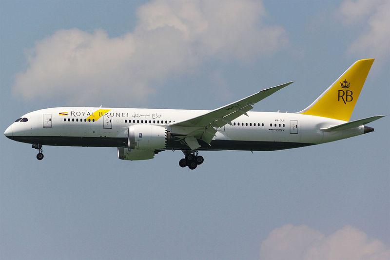 File:Royal Brunei Airlines Boeing 787-8 Dreamliner V8-DLC.jpg