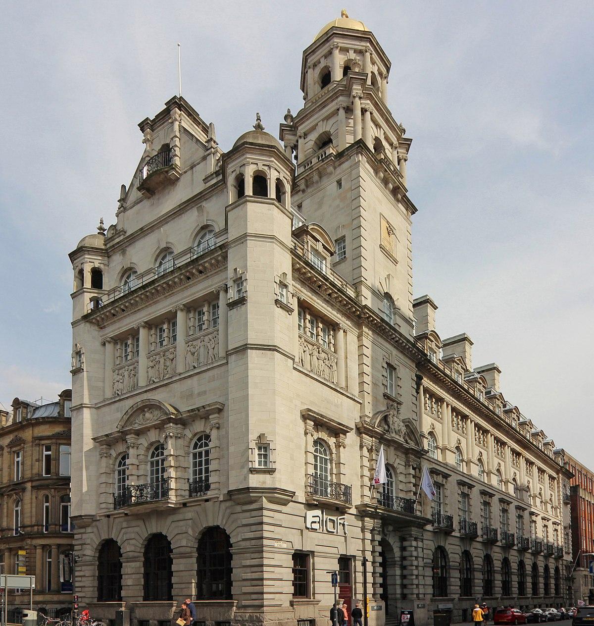 Building A Backyard Gym: Royal Insurance Building, Liverpool