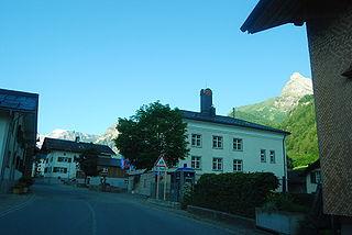 Village in Glarus, Switzerland