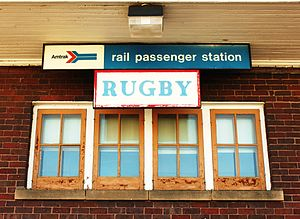 Rugby, North Dakota - Image: Rugby, North Dakota