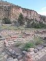 Ruins below cliffs - panoramio.jpg