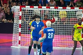 Azenaide Carlos Angolan handball player