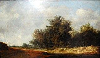 The road among dunes