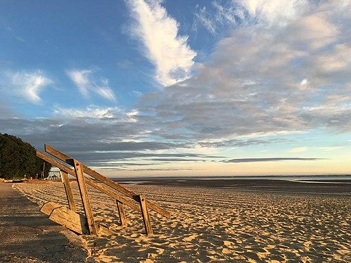 Ryde beach at sunrise 2
