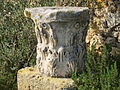 Säulenteil, Roman Villas in Karthago, Tunesien Januar 2015 01.JPG