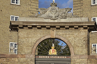 Sølvgade Barracks - Detail of the gate