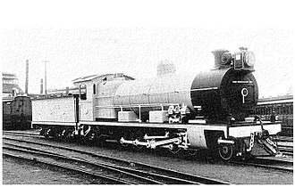 South African Class 3 4-8-2 - NGR Class B no. 332, later SAR Class 3 no. 1448