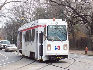 SEPTA Route 11 Philadelphia trolley line