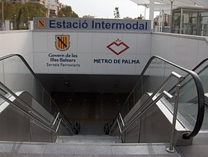 Palma Intermodal Station - Image: SFM Intermodal Entrance