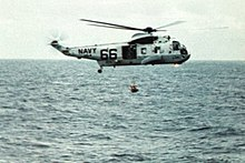 Helicopter 66 pictured in 1969