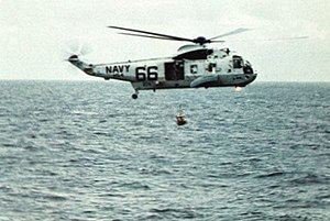 SH-3D Sea King of HS-4 recovers Apollo 11 astronaut on 24 July 1969.jpg