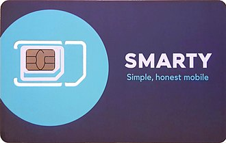 SMARTY - SIM card from SMARTY