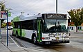 SMART 40-foot Gillig hybrid bus at Wilsonville Station transit center in 2018.jpg