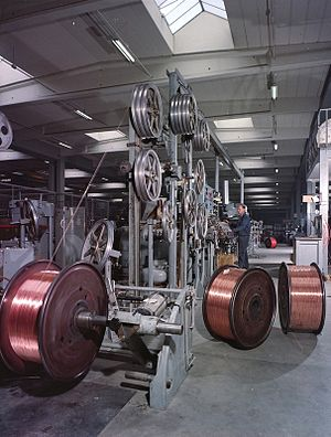 Standard Telephones and Cables - Manufacturing at STC's Oslo, Norway-facility in 1965