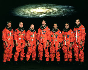 STS-103 - Image: STS 103 crew