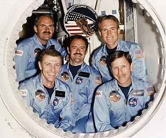 STS-51-I - Image: STS 51 I crew