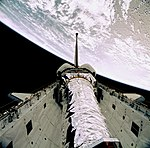 STS-93 Deployment of Chandra (deploy3).jpg