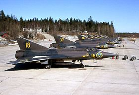 Image illustrative de l'article Saab 35 Draken