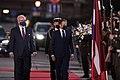 Saeimas priekšsēdētāja piedalās Francijas prezidenta oficiālajā sagaidīšanas ceremonijā - 50397578513.jpg