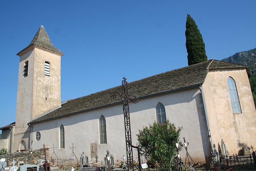 Saint-Martin-de-Larçon (Hérault) - église Saint-Martin.