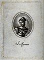 Saint Agnes. Engraving. Wellcome V0031503.jpg