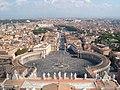 Saint Peters Square Rome - panoramio.jpg