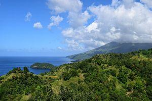 Saint Vincent (Antilles) - View of Saint Vincent