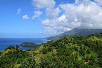 Saint Vincent (Antilles) - View of Saint Vincent