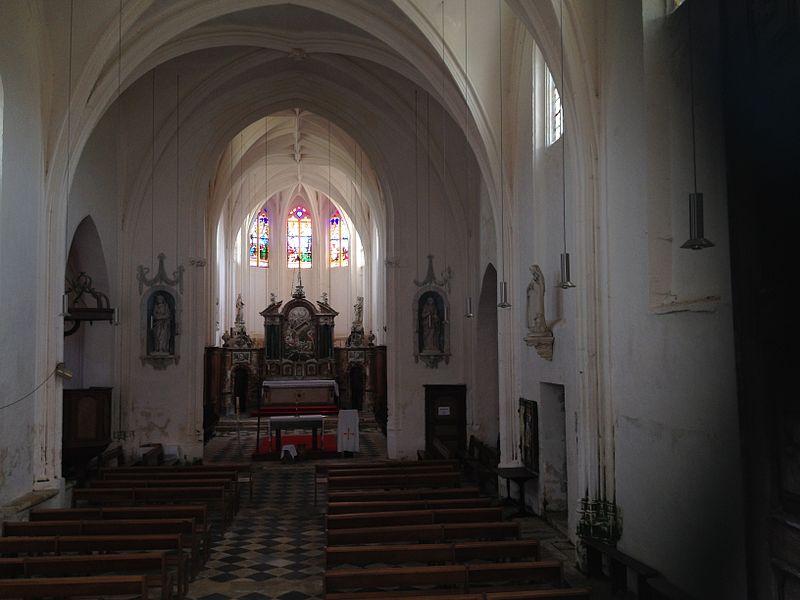 Église Sainte-Colombe de Sainte-Colombe-sur-Loing