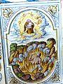 Salem Konvent - Sommerrefektorium Kachelofen 3 Bibel Lazarus.jpg