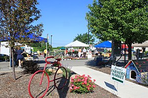 Saline, Michigan - Saline Farmers Market