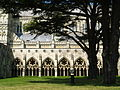 Salisbury Cathedral Cloisters looking North.jpg