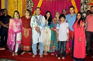 Salim Khan family Indian film family