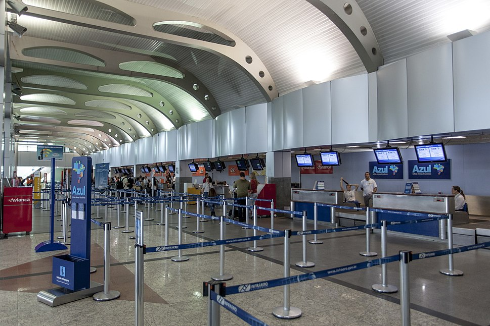 Salvador aeroporto check-in