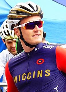 Sam Harrison (cyclist) Welsh cyclist