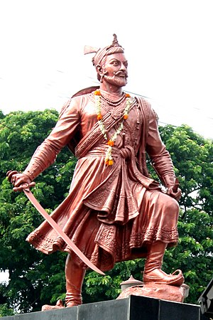 Battles involving the Maratha Empire - Chhatrapati Sambhaji Maharaj lead the Marathas in War of 27 years for the first nine years.