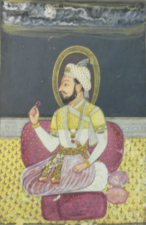 Sambhaji eldest son of Chhatrapati Shivaji and 2nd Chhatrapati of the Maratha Empire