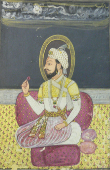 Sambhaji painting late 17th century.png