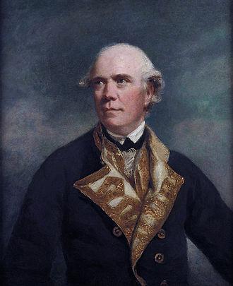 Samuel Barrington - Rear-Admiral Barrington