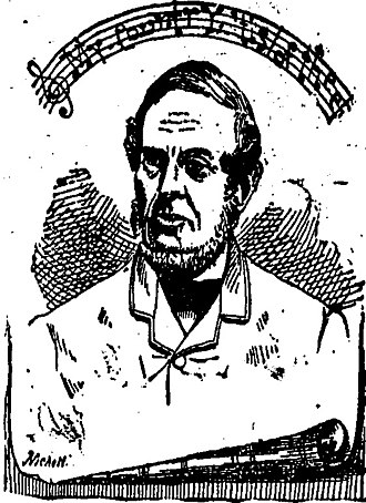 Samuel Francis Smith - A sketch of Samuel Francis Smith from a life sketch in The Express