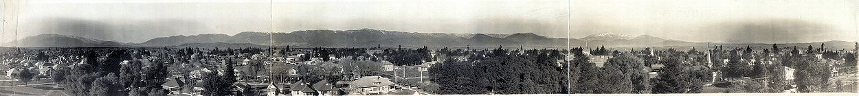 San Bernardino, California, city and village, 1909